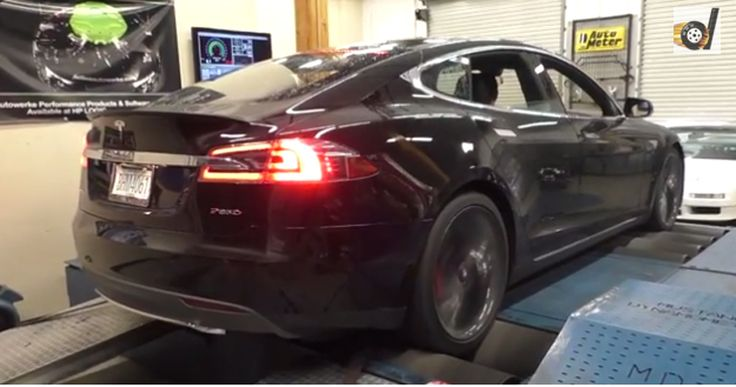 Tesla Model S P85D put on a dyno stand! Experts were surprised! It happens the first time for the experts from a workshop to use  dyno stand  tuning to accurately assess the performance of an electric vehicle. Even if the Tesla Model S claims to be a simple car with electric engine, this hides a huge potential enviable translated into figures. One example is ...
