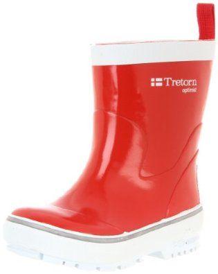Tretorn Optimist Rain Boot (Toddler/Little Kid),Red,29 FR(12 M US Little Kid) Tretorn. $37.50