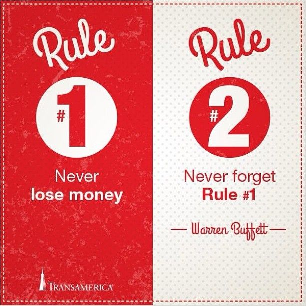 The Two Rules To Remember About Money According To Warren Buffet Extraordinary Transamerica Life Insurance Quote