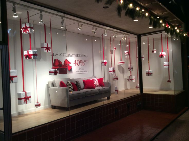 Black Friday Inspiration for Furniture Store display ...