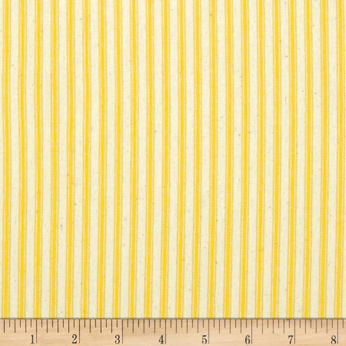 44 Quot Ticking Stripe Yellow Window Treatments Duvet