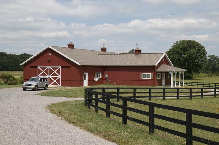 Morton Buildings Horse Barn In Nashville Tennessee