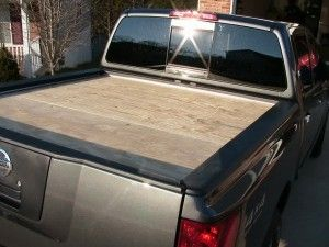 homemade truck bed cover