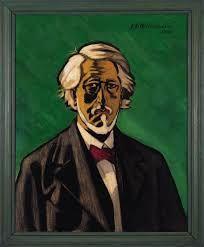 Jens Ferdinand Willumsen - Self portrait