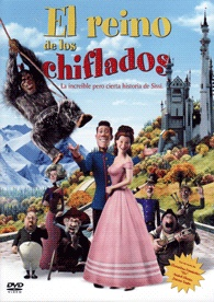 El Reino de los chiflados: la increible pero cierta historia de Sissi (2007) Alemania. Michael Herbig - DVD ANIM 58