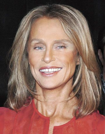Lauren Hutton, b. 1943, American model and actor at 68