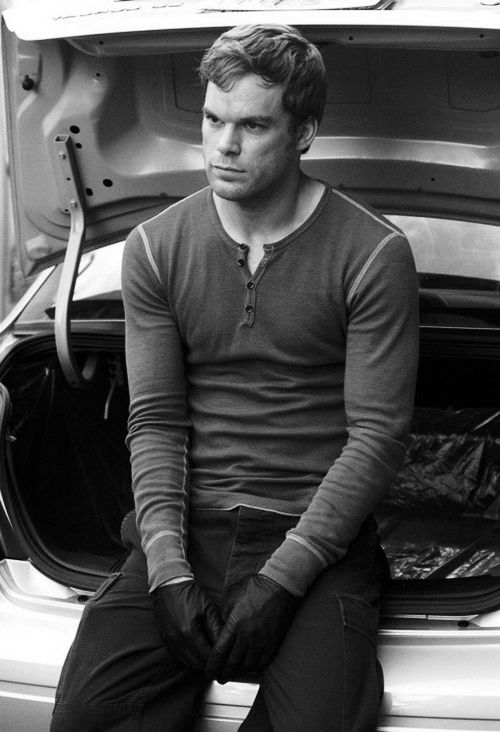 Michael C. Hall aka Dexter Morgan. I <3 him.