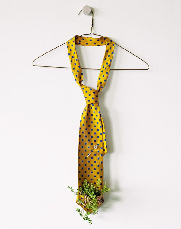 Father's Day DIY: Menswear-Inspired Vertical Gardens | Story by ModCloth