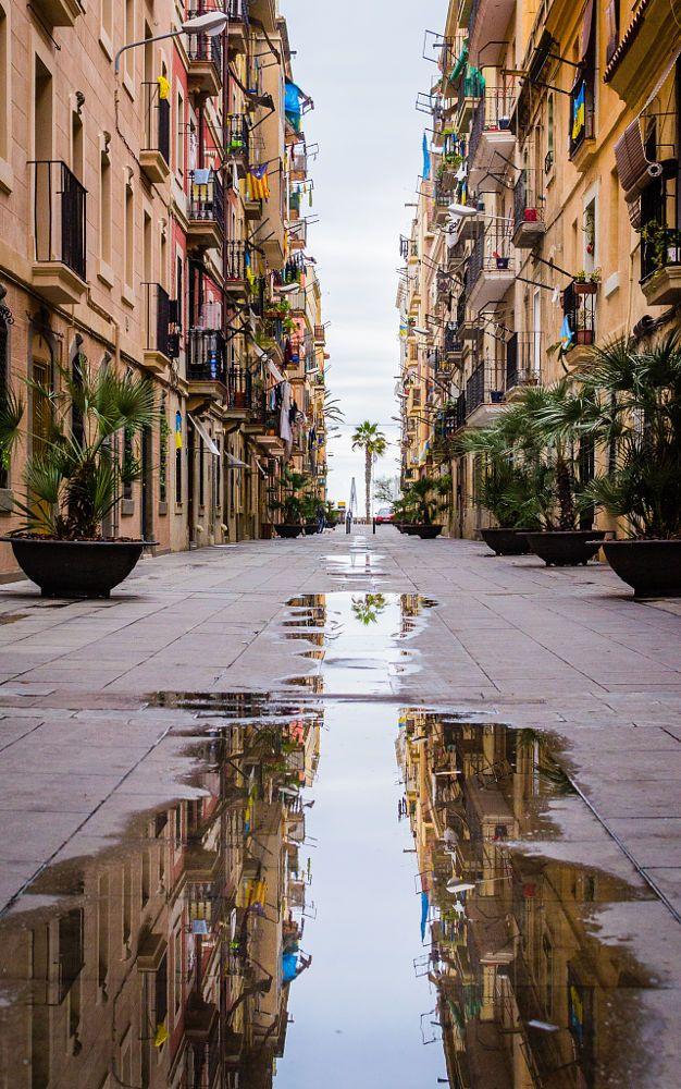 Barcelona street (en la Barceloneta) by Imry Atzmon on 500px
