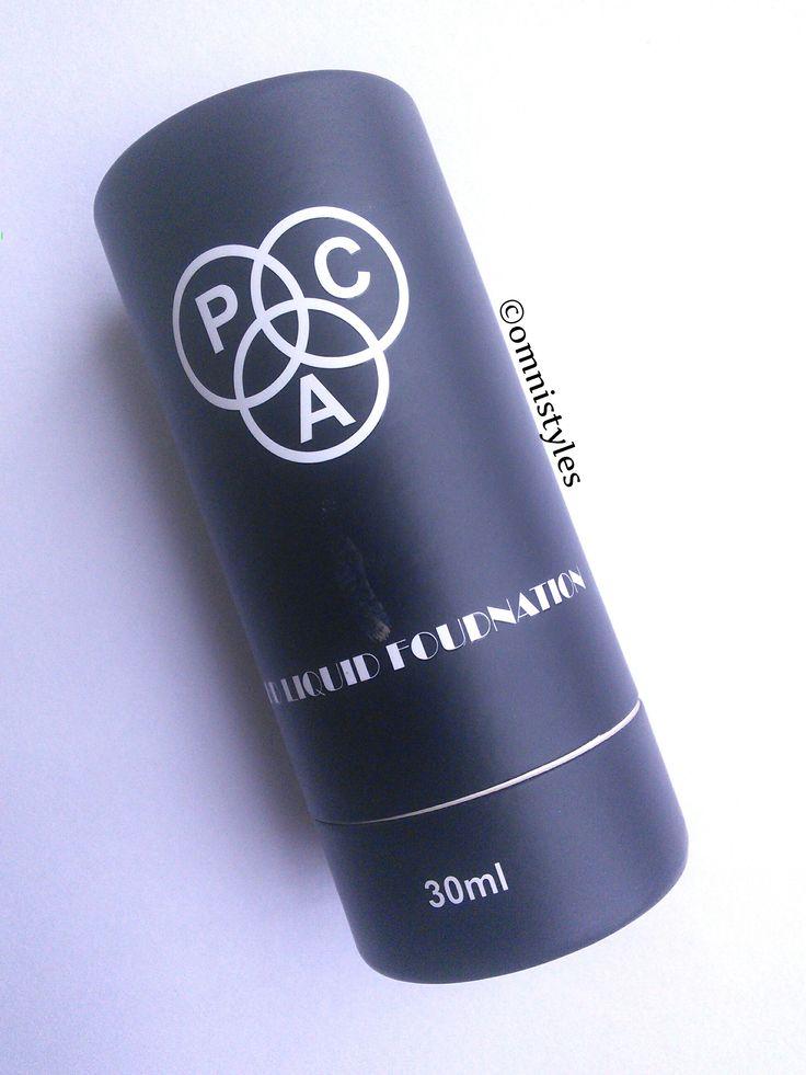 PAC Cosmetics HD liquid foundation (Shade No. 2.7)- Review