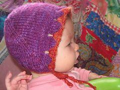 Ravelry: Petal #Knit #Bonnet #pattern by Kourtney Robinson