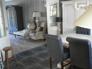 9 best images about kamer en suite on pinterest stylists dark tile floors and dutch - Deco moderne ouderlijke kamer ...