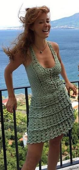 Vanessa Montoro - crochet dress