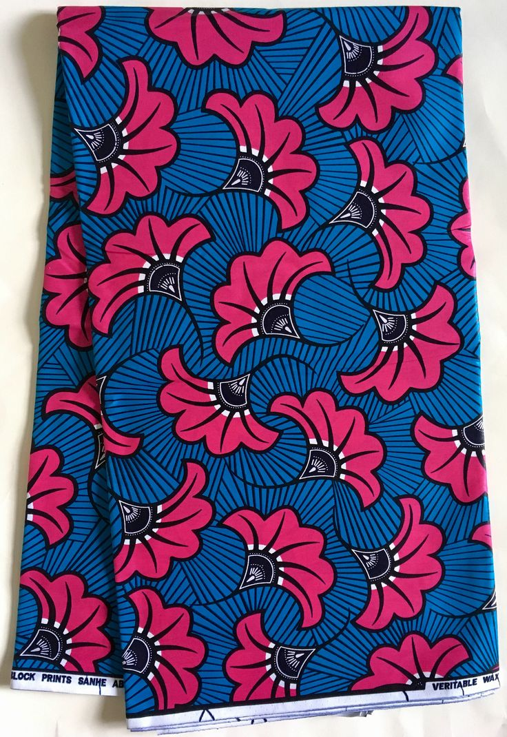 A personal favorite from my Etsy shop https://www.etsy.com/listing/520364204/african-print-fabric-ankara-blue-pink