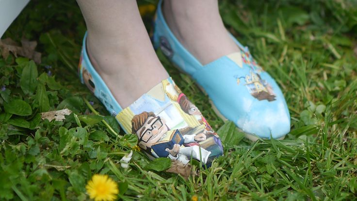 """Up"" shoes"