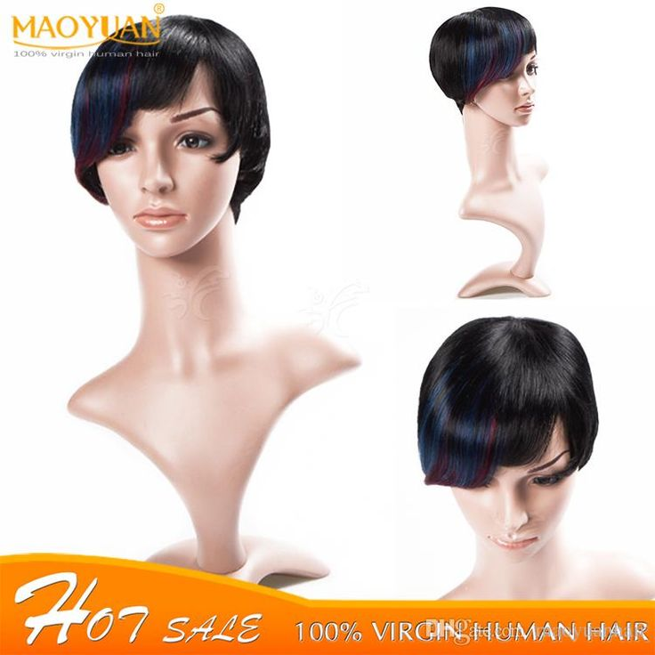 6A Grade Very Good Quality Cheap Human Hair Wigs Short Hair Wigs Weight 80g 100 Human Hair Wigs Wholesales High Quality Human Hair Online with $16.48/Piece on Maoyuanhair's Store   DHgate.com