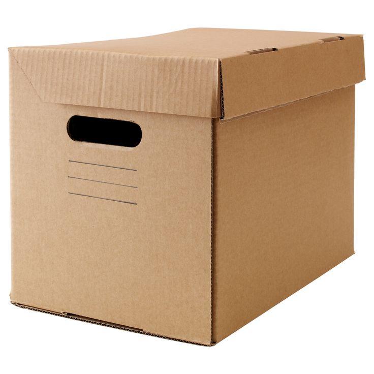 PAPPIS Caixa c/tampa - IKEA (mudanças)