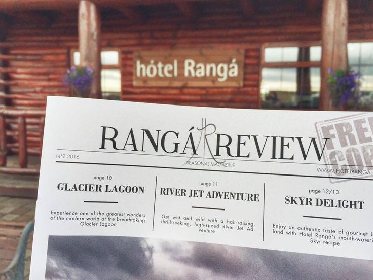Hotel Ranga has a seasonal magazine which is distributed for free for customers and everyone who is interested about knowing more about Iceland. They also have a pdf free version, which can be downloaded for free at the below link.  http://www.hotelranga.is/about-us/brochures-and-more/