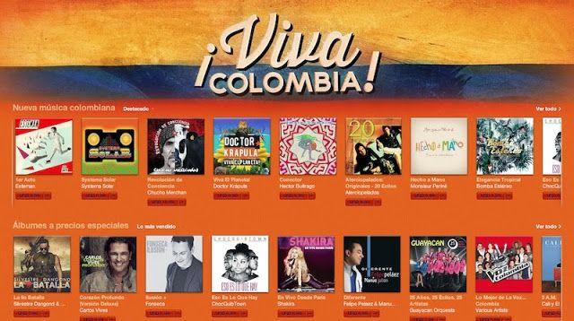 Lktato.blogspot.com: iTunes Celebra la independencia de Colombia con grandes descuentos