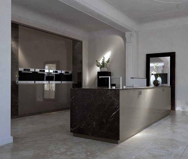 Fancy Luxsus Kitchen Design: Luxurious Kitchens By Fendi Casa