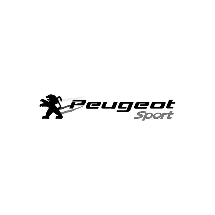 Peugeot sport vinyl decal ballzbeatz com