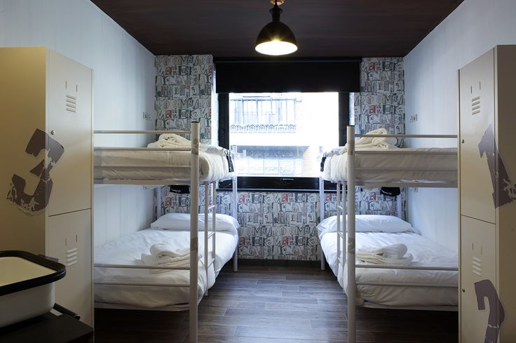 Habitaciones modernas y de #diseño en pleno centro de #Madrid.