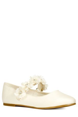 Buy Ivory Bridesmaid Shoes (Older Girls) from the Next UK online shop