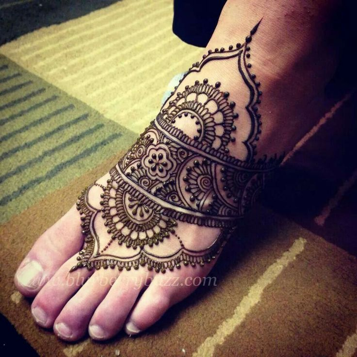 Mehndi Style Tattoo Artists : Images about ankle foot henna inspiration on