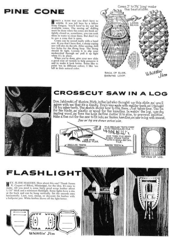Classic Cub Scout Neckerchief Slides