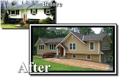 bi level home additions | ... Renovation w/ add-on Family Room and Master Suite L-Ranch Add-a-Level