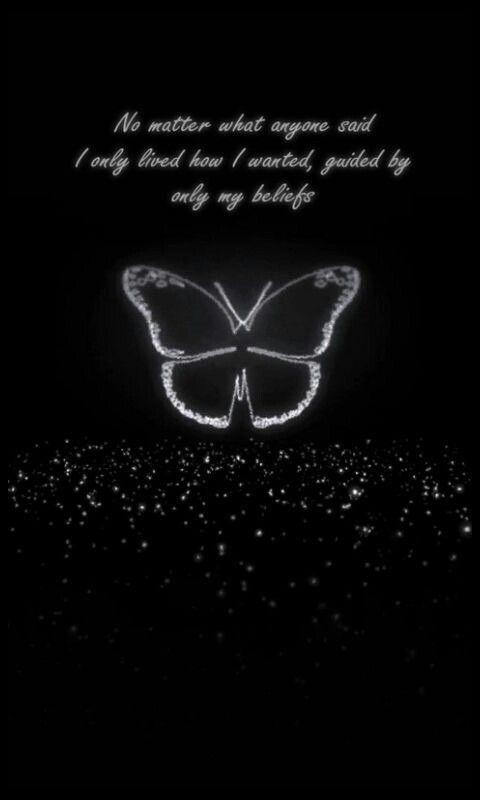 Lockscreen Butterfly