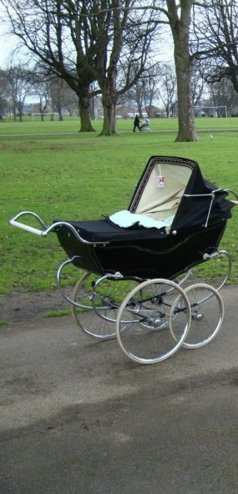my daughters pram had a white velvet interior and my sons was red velvet inside, I love them