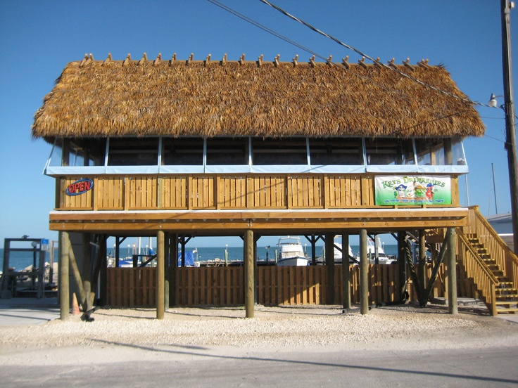 25 best tiki bars of the florida keys images on pinterest for Local fish restaurants