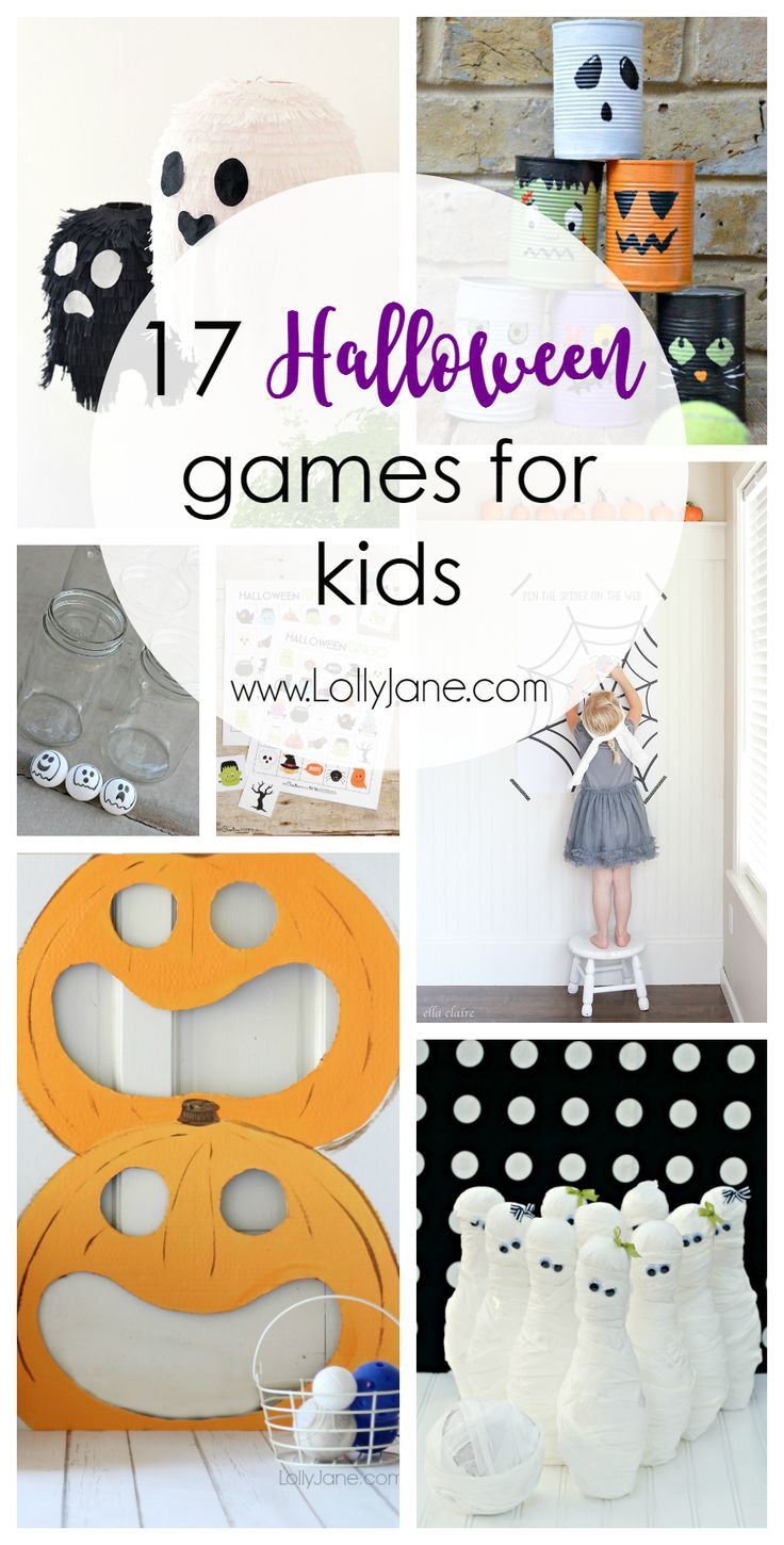 17 halloween games for kids - Halloween Games To Play At School