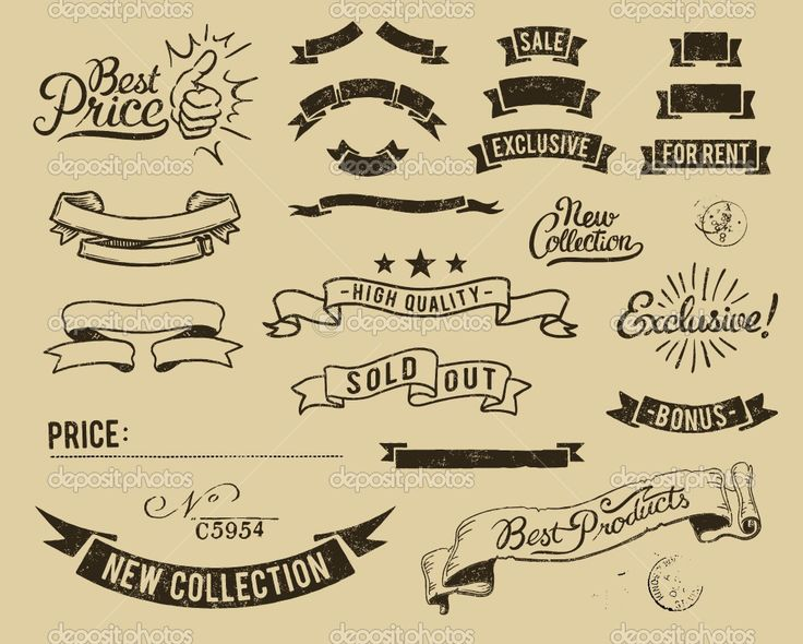 Vintage Graphic Banners