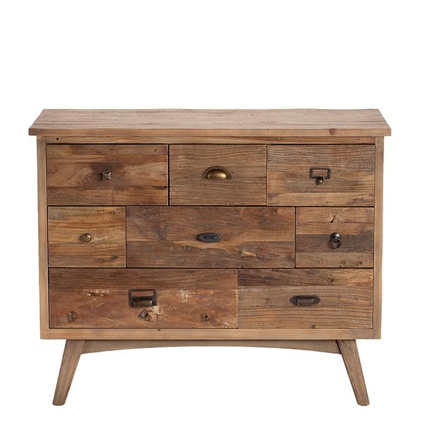 danish 8 drawer chest chests storage dining room living room