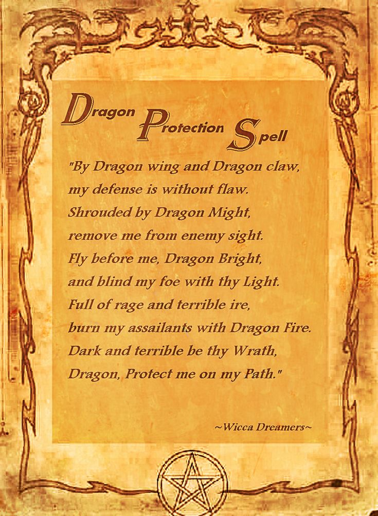 Protection Spell...