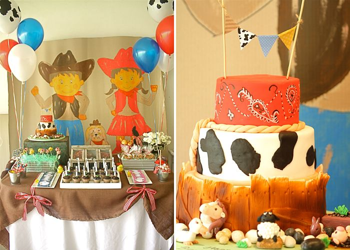 Country theme party