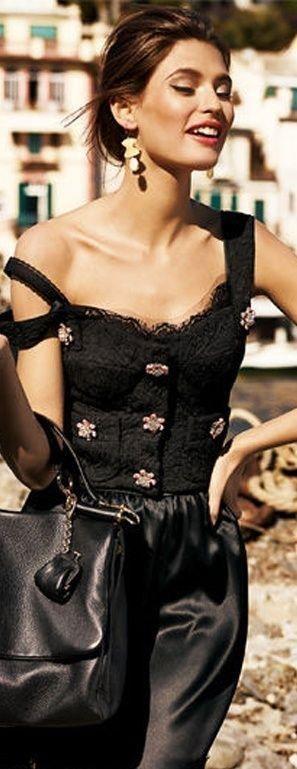 Rendezvous Italian Style in Dolce Gabbana- #LadyLuxuryDesign