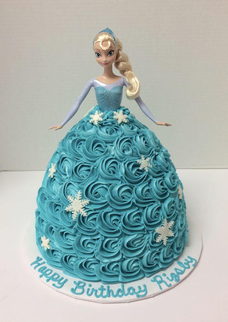 Elsa Doll Cake Images : 25+ best ideas about Elsa doll cake on Pinterest Frozen ...