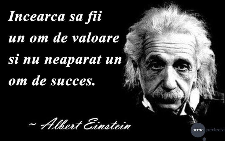 Valoarea este ceea ce ramane atunci cand succesul te paraseste.