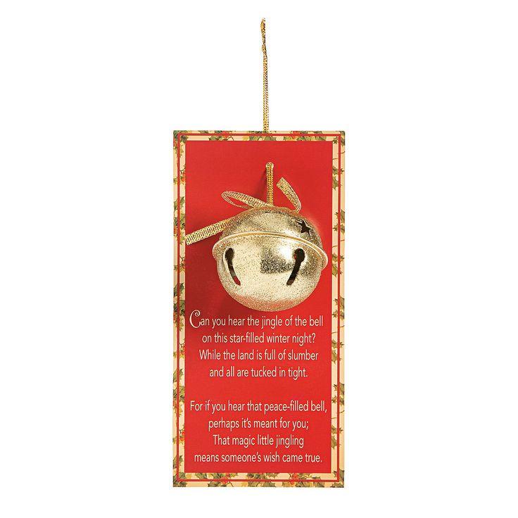 Legend of the Jingle Bell - OrientalTrading.com
