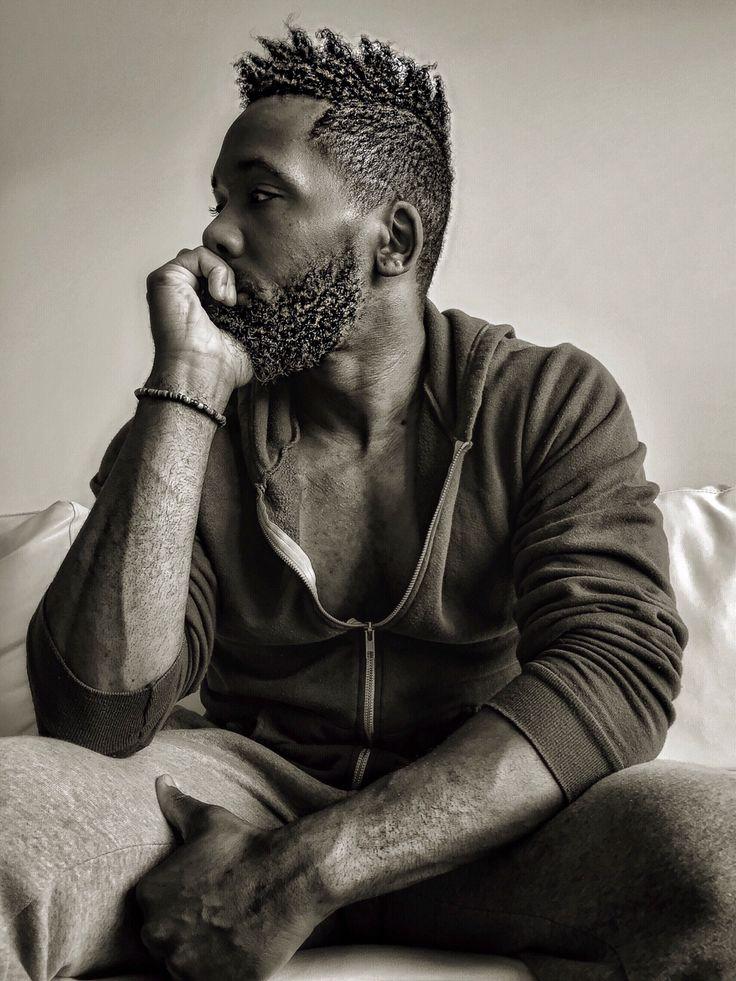 77 best black men beard styles amp mustache styles for 2019 - 736×981