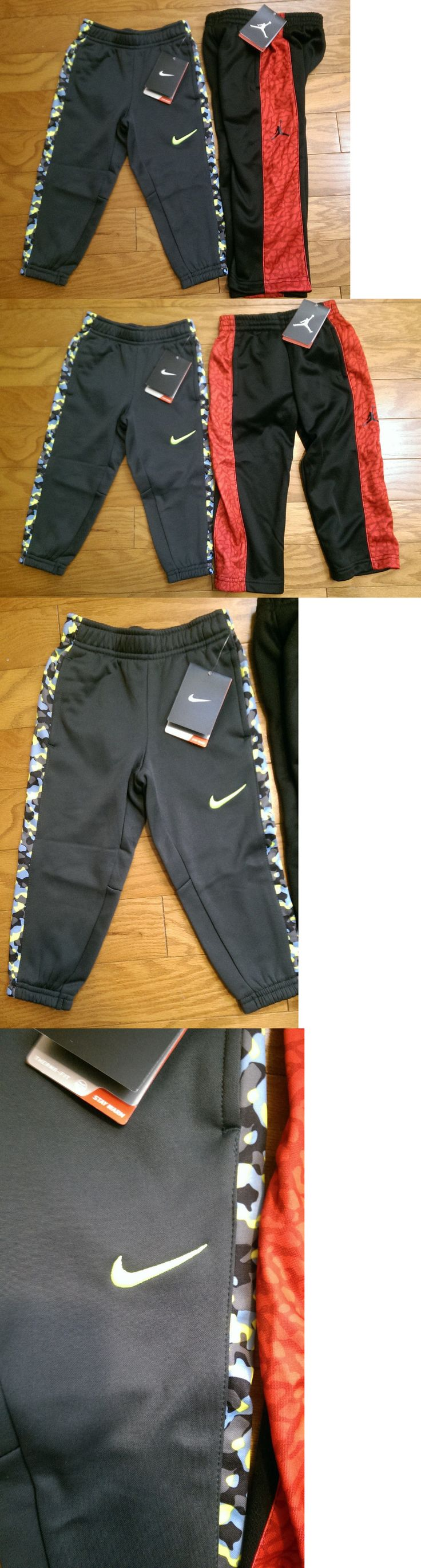 Bottoms 57793: Lot Of 2 - Boys Nike And Jordan Sweat Pants - Multi-Color - Size 2T - Nwt - $91 Re -> BUY IT NOW ONLY: $30.93 on eBay!
