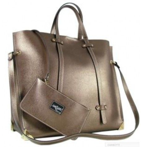Leather Handbag By Carbotti