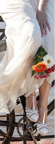 Colección Bridal, para novias que quieren verse lindas y CAMINAR cómodas. Sí por fin!