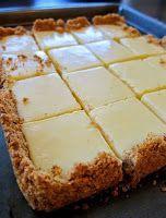 Creamy lemon squares | Easy Recipes :) Chef ^_^