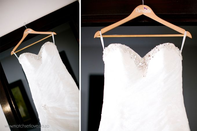 Customised Wooden Bridal Hangers by Match Set Love