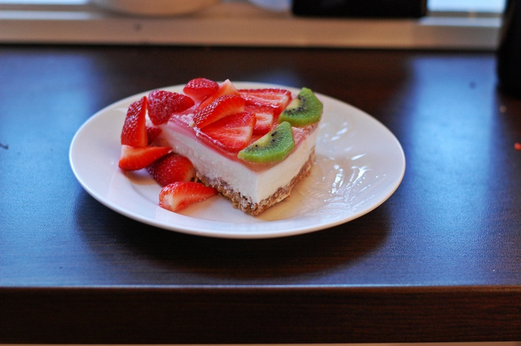 Oppskrift: Ostekake: Cheesecake, Blogger Helse Mat, Recipe, Ostekake