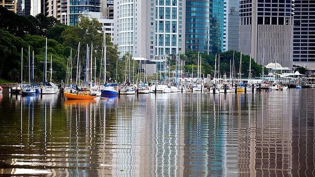 Brisbane River in The City  #Brisbane #Brisbanecity
